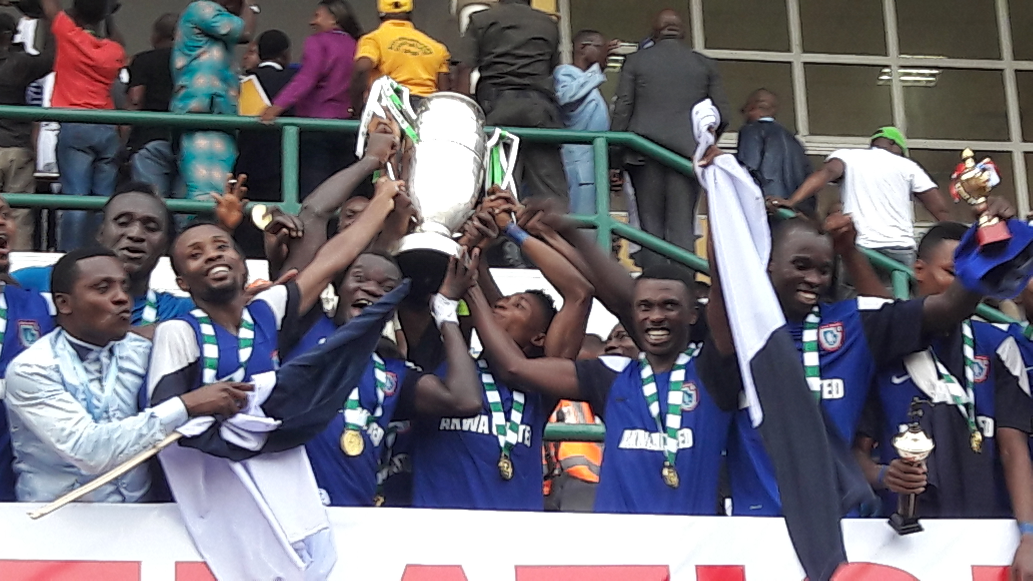 Akwa United Players To Get Cars For Federation Cup Win