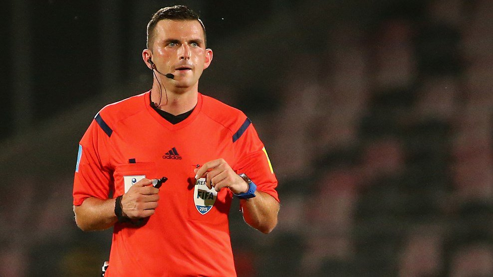 Chile 2015: EPL Referee Oliver Proud To Handle Nigeria Vs Mali Final