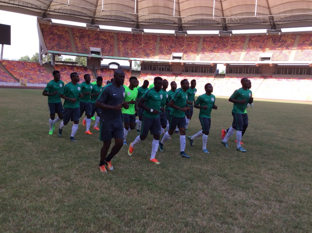 21 Eagles Train For Swaziland; Martins, Onazi Expected