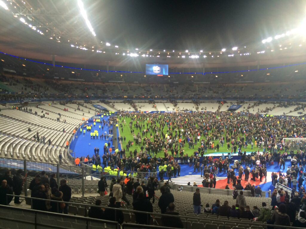 Scores Killed As Explosions Mar France Win Over Germany