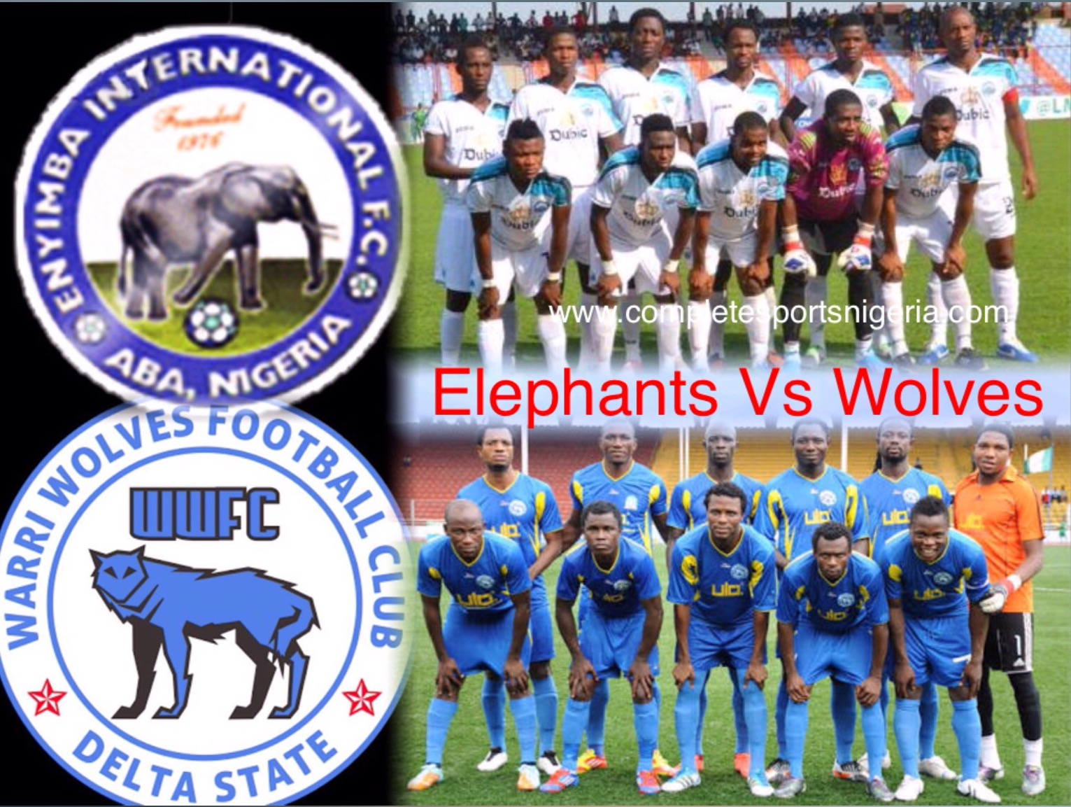 Enyimba, Warri Wolves Chase History