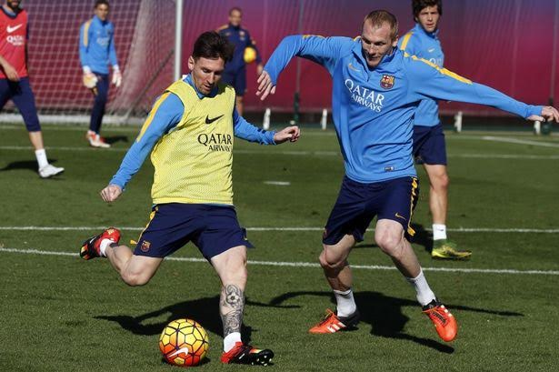 Messi Fit For El Clasico, Named In Barca Squad