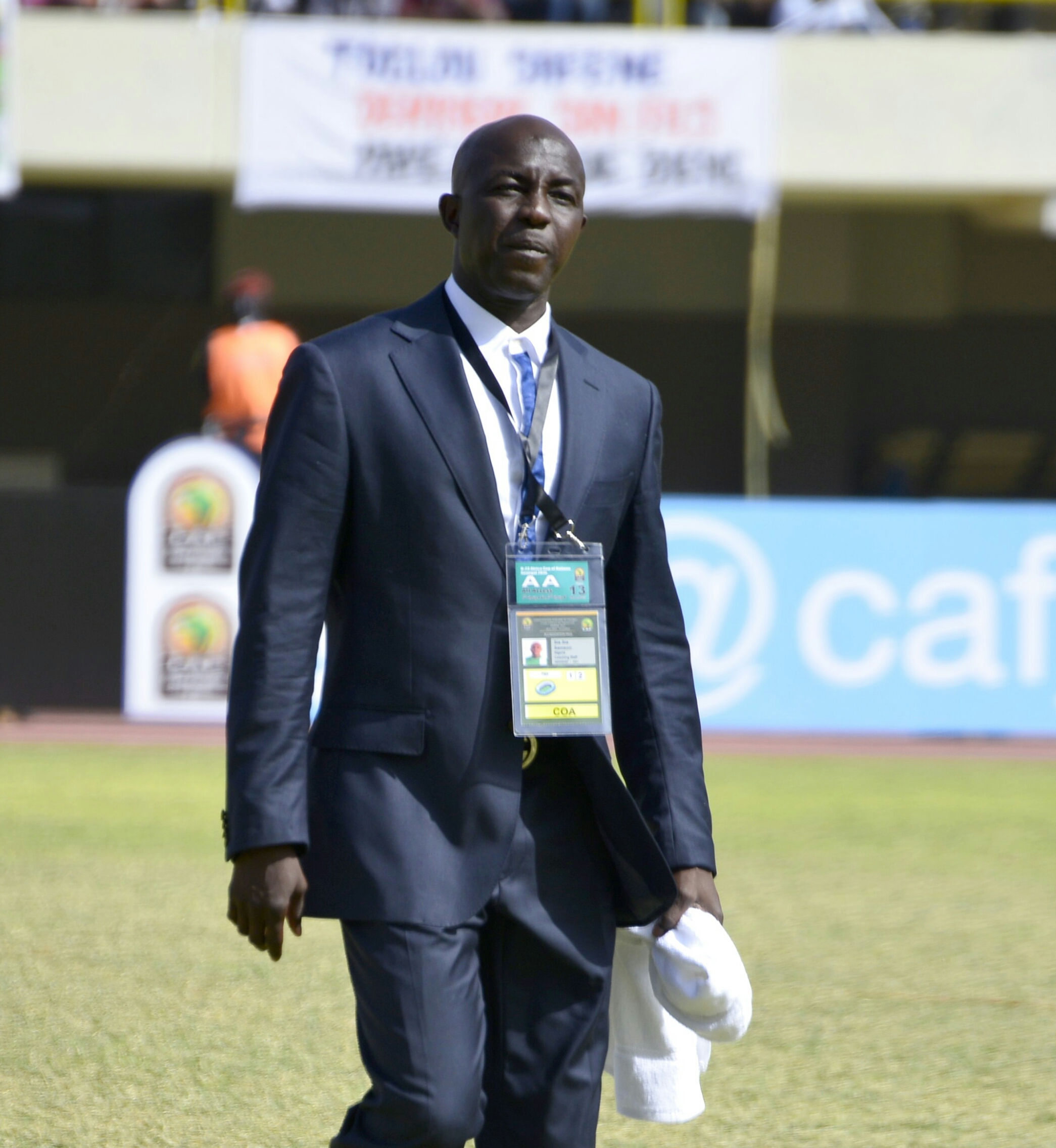 Siasia: Unpaid Bonuses Won't Stop U-23 Eagles From AFCON Title