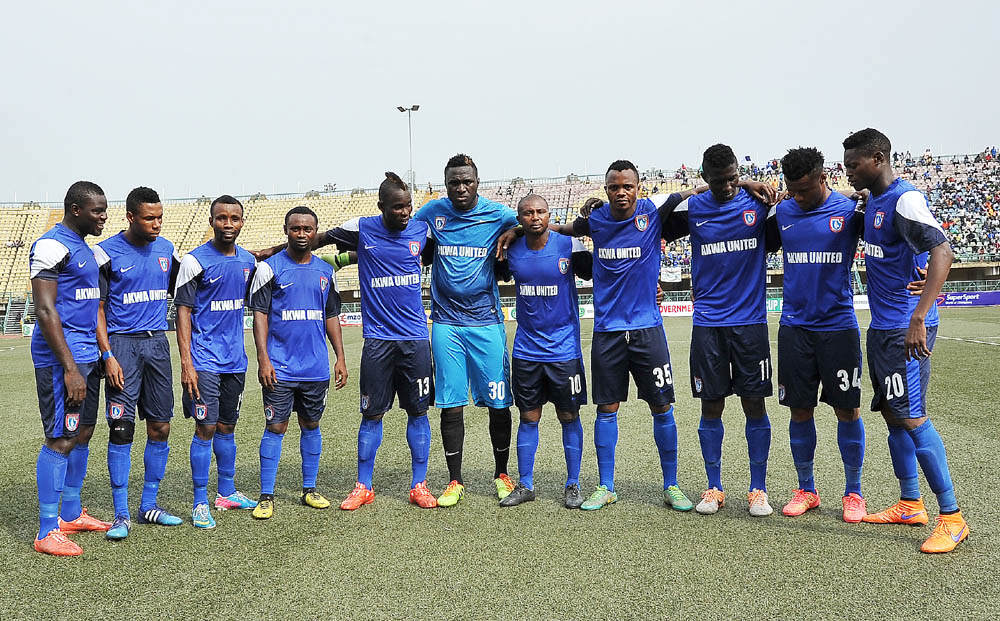 Paul Bassey: Akwa UnitedCan'tDoWithout The Four Players AtCHAN Eagles' Camp