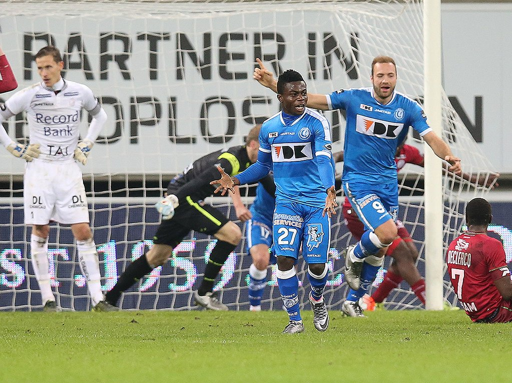 Simon Scores In Gent Draw, Haruna Benched In Anzhi Win
