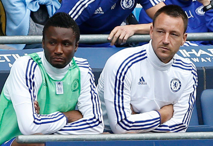 Mikel, Fit-Again Onazi Benched; Iwobi In Action For Arsenal U-21s