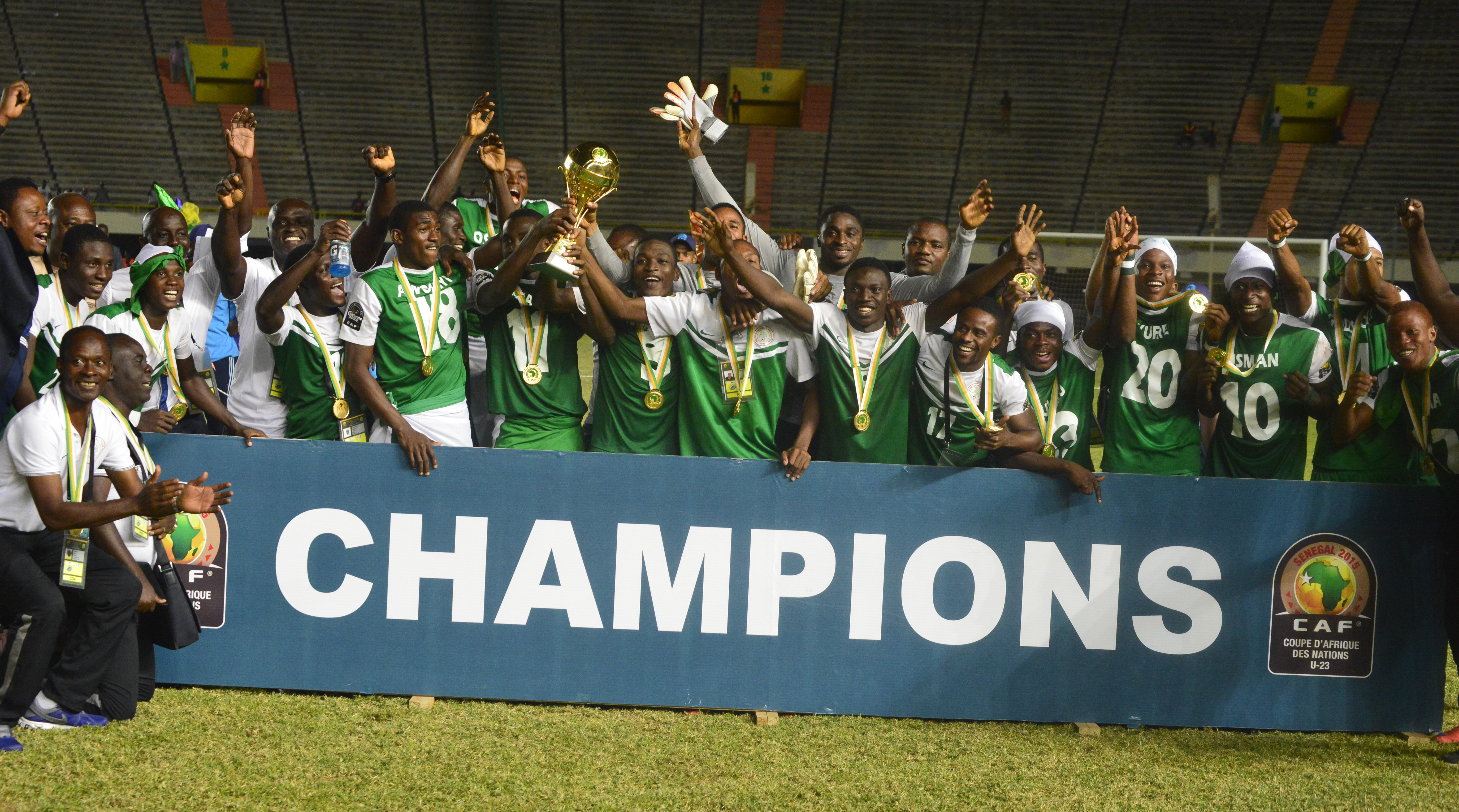 2015 REVIEW: 7 Memorable Moments In Nigerian Football