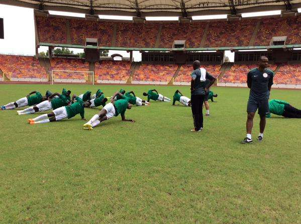 Home Eagles Face South African Club In CHAN Friendly