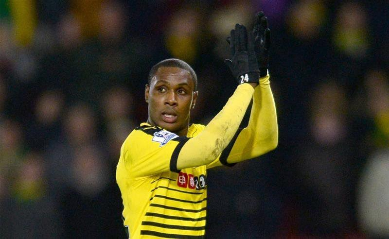Ighalo Voted  November Complete Sports Player Of The Month