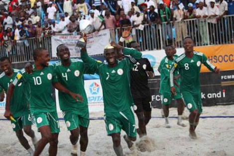 Super Sand Eagles Camp Opens Ahead Of Copa Lagos