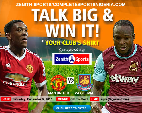 The Winners: Man United Vs West Ham, Talk Big & Win it!