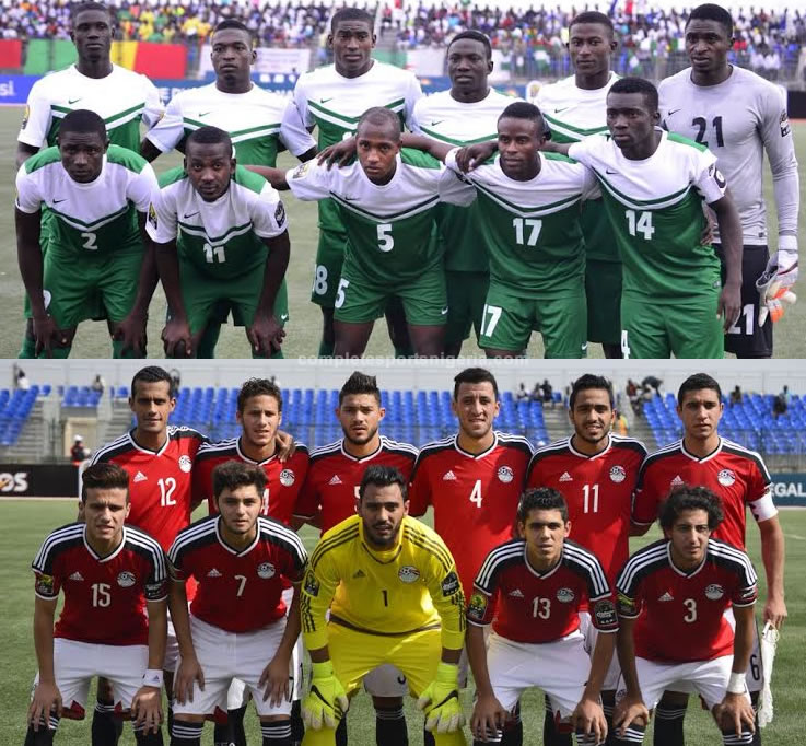 Minute By Minute – Nigeria Vs Egypt