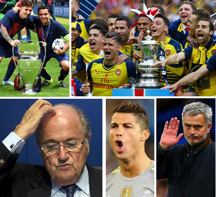 2015 REVIEW: Mourinho, FIFA, Barca, Arsenal In 12 Big Moments Of World Football