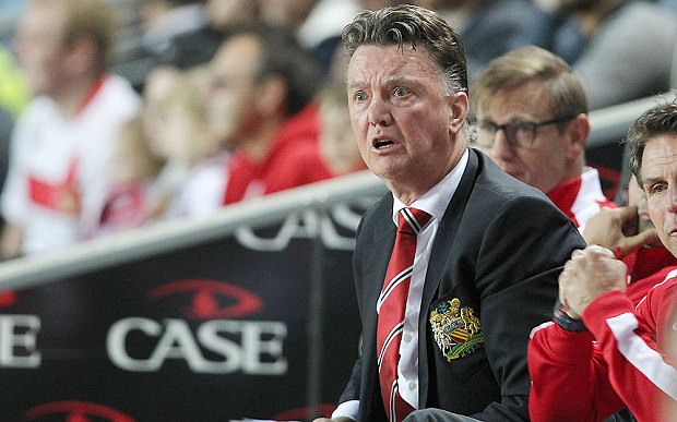 Man United Sack Van Gaal