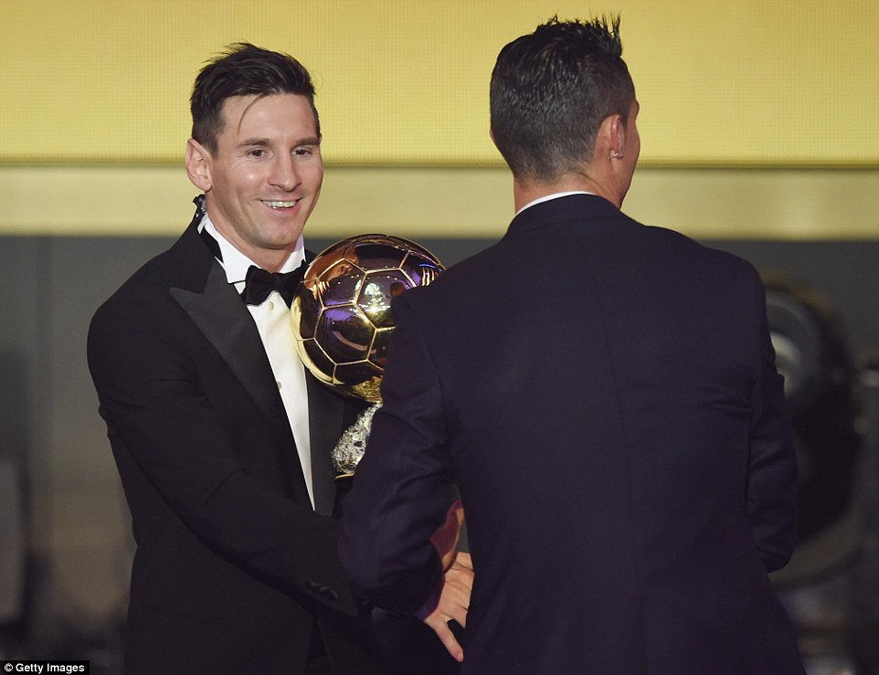 Ballon D'Or: Oliseh Votes Messi, Snubs Ronaldo; Musa Votes Messi