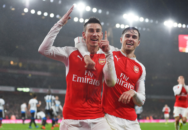 Arsenal Beat Newcastle, Go Two Points Clear As Bournemouth Hold Leicester