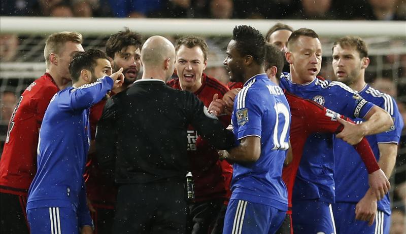 English FA Charge Chelsea, West Brom For Players Improper Conduct