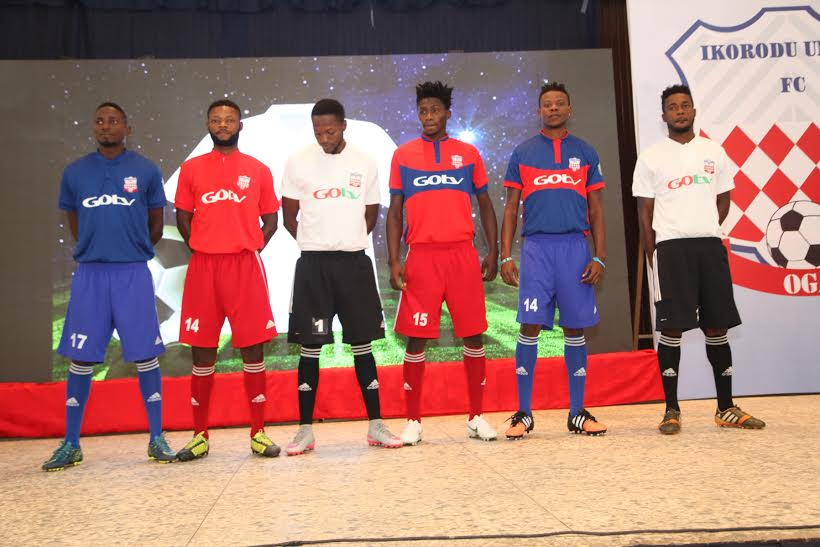 Ikorodu United Launch New Kits For 2015/2016 NPFL Season