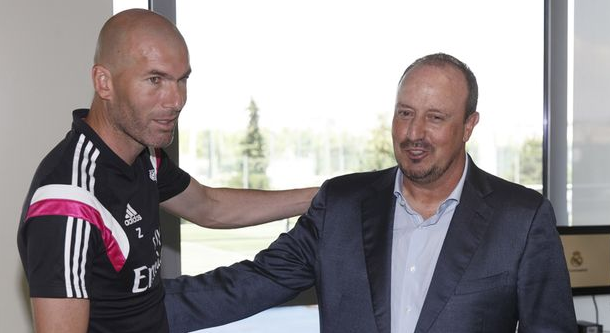 Real Madrid Confirm Benitez Sacking, Appoint Zidane
