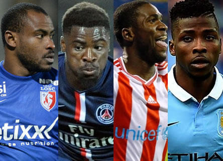 Enyeama, Aurier, Ideye, Iheanacho In African Team Of The Week