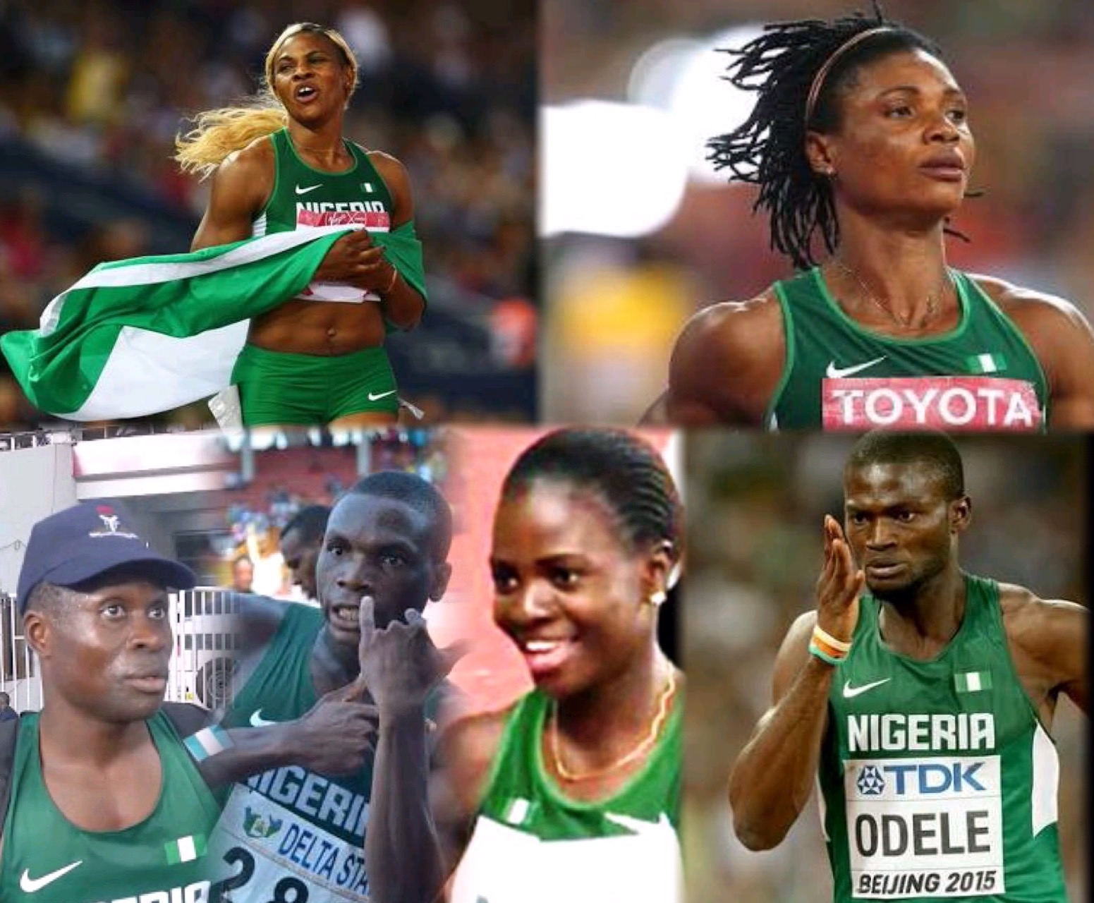 QUEENS & KINGS! THE TOP ATHLETICS STARS OF 2015