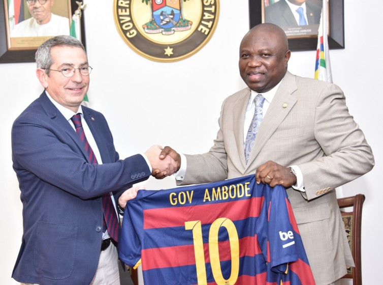 Lagos To Host First Barcelona Academy In Lagos
