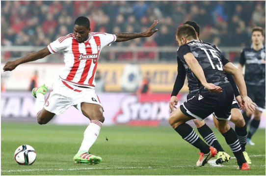 Ideye Scores in Olympiakos Cup Win, Ikeme Returns For Wolves
