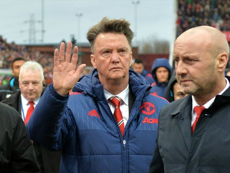 Van Gaal Eyes Top Four, Dismisses Mourinho To United Rumours