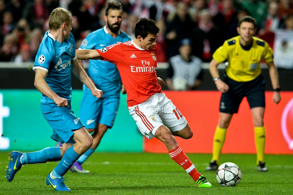 Benfica Secure Slim Win Over Villas-Boas' Zenit