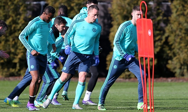 Terry Out Of Chelsea's UCL Clash, Mikel In Squad