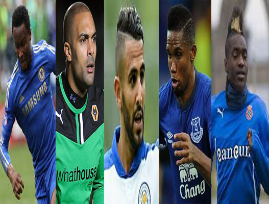 Mikel, Ikeme, Mahrez, Eto'o In African Team Of The Week