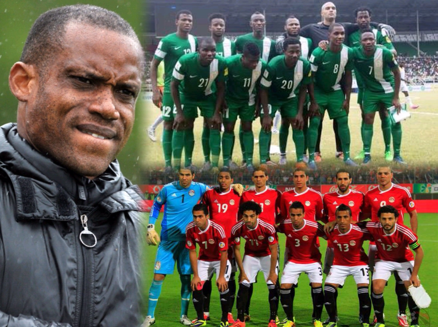 Oliseh: Eagles Can Handle Egypt's Salah, Our Target Is 4 Points From 6