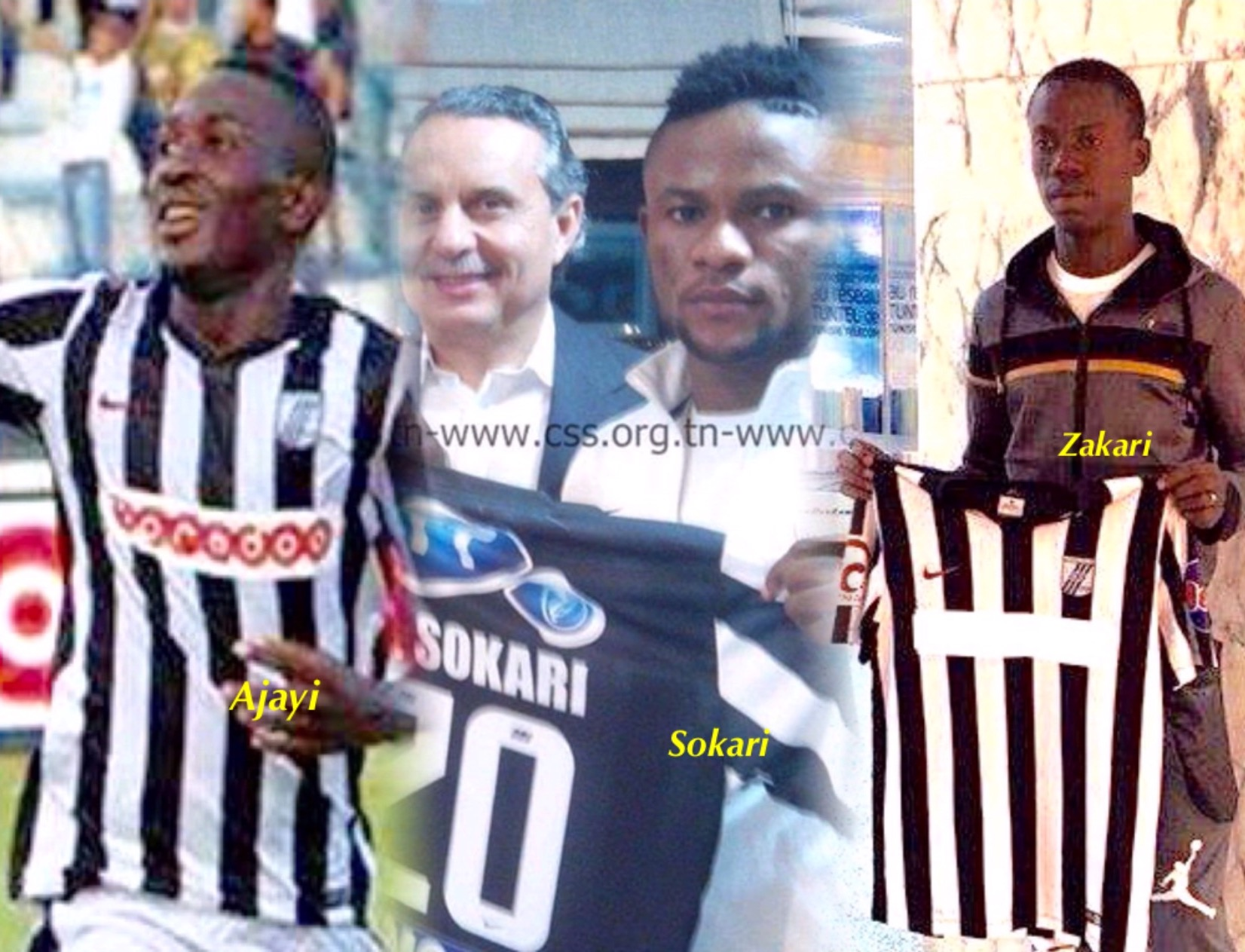 CS Sfaxien Pile Up Debts With Zakari,  Ajayi, Sokari Contracts