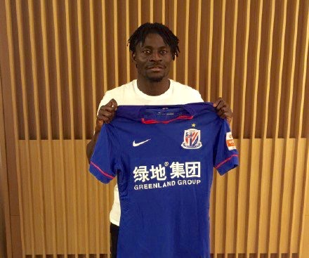 Martins To Earn $6.6m At Shanghai Shenhua