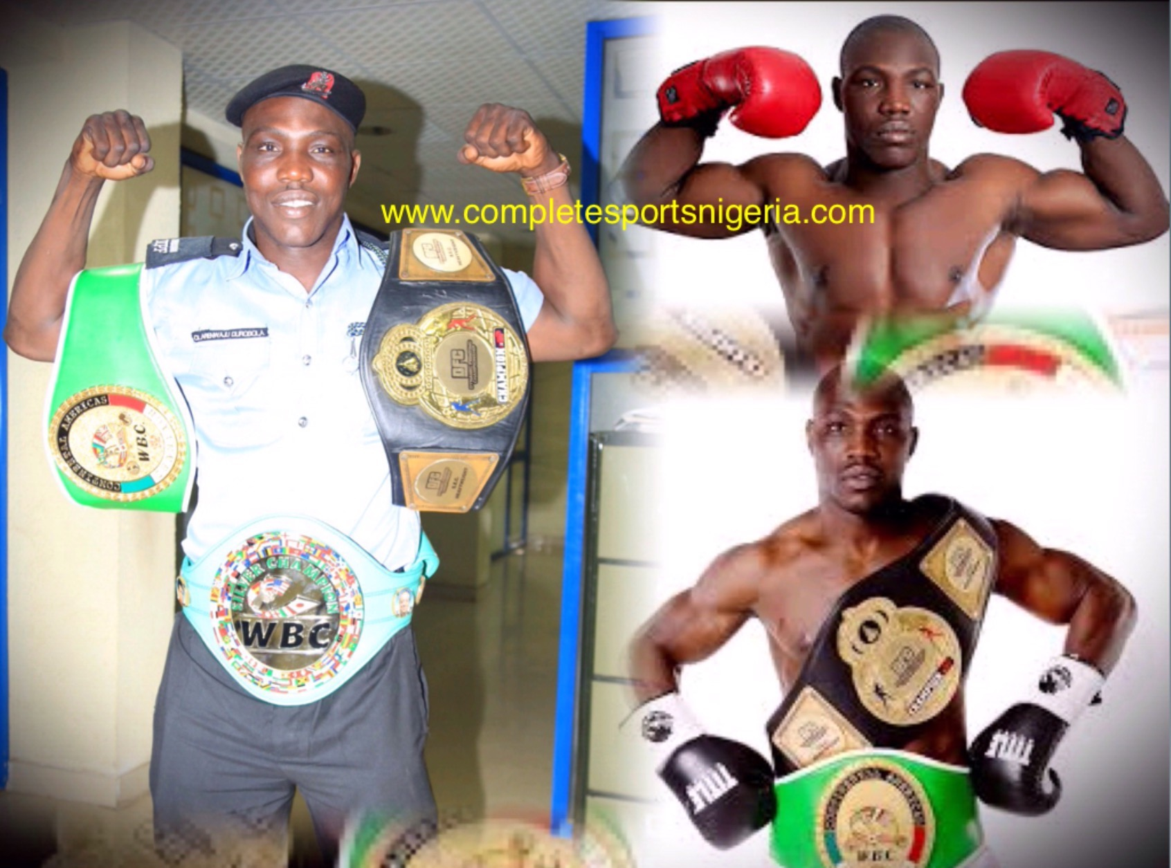 Durodola Calls For Support Ahead WBC Title Fight