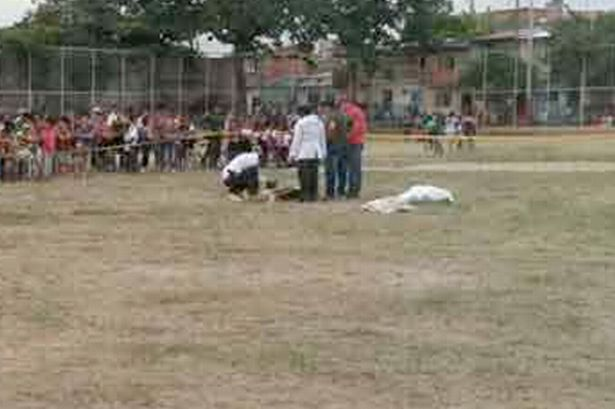 Argentine Player Shoots Ref Dead After Red Card
