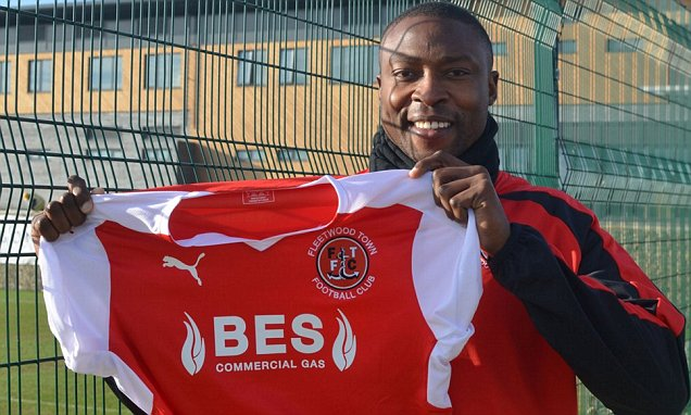 Shola Ameobi Joins League One Side Fleetwood Town