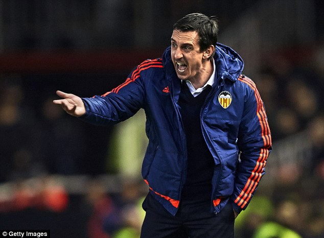 Neville Sacked By Valencia, Replaced With Ex-Liverpool Coach