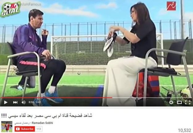MESSI AFFAIR: Egyptians Insult Barca Star For Donating Worn Boots