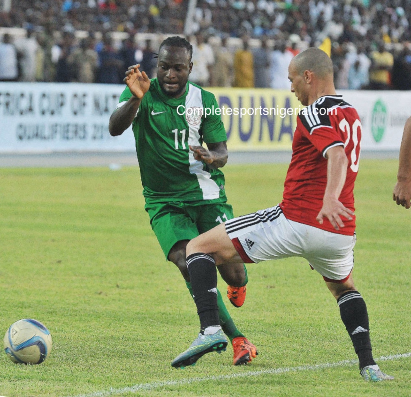 Moses Sad Over AFCON Failure, Vows: Eagles Will Be Back!