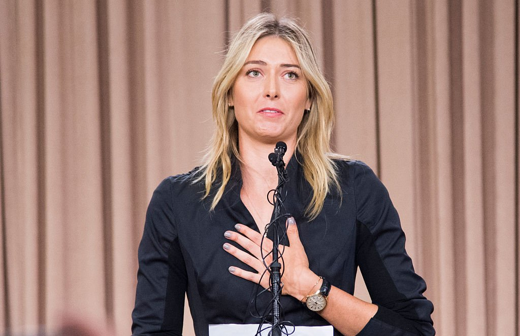 Sharapova Suspended After Failing Dope Test