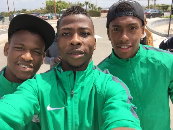 Iheanacho Ahead Of Egypt Clash: Come On, Eagles!