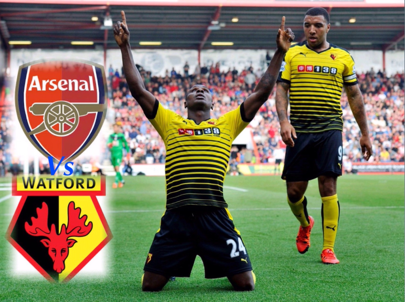 Wenger Wary of Ighalo, Deeney Threat Ahead FA Cup Clash