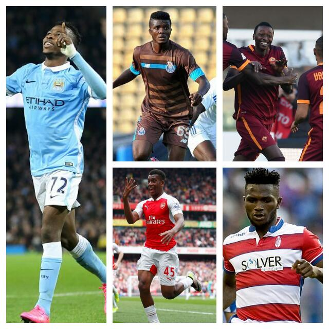 5-STAR YOUNGSTERS: Young Nigerians Starring In Europe This Season
