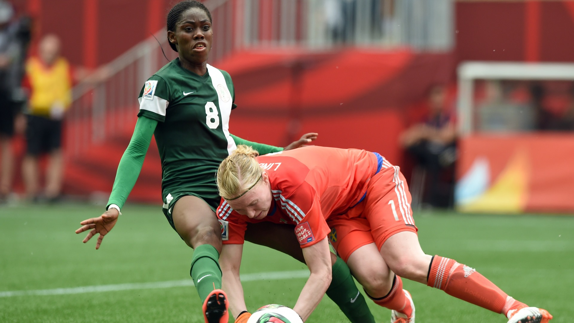 Oshoala: Super Falcons Will Beat Senegal In Abuja