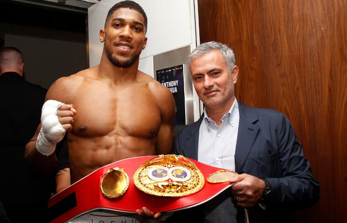 Mourinho At Joshua Fight, Tips Leicester For EPL Title If…
