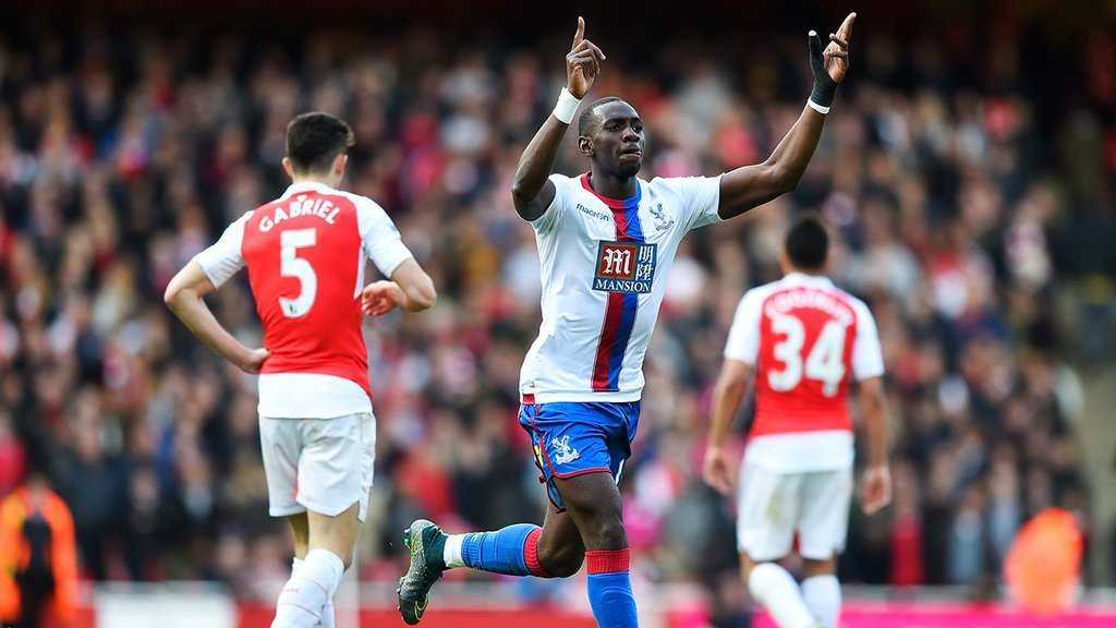 Bolasie Strikes Late For Palace As Arsenal Stay Fourth