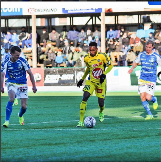 Oduamadi Targets Cup Win In Finland