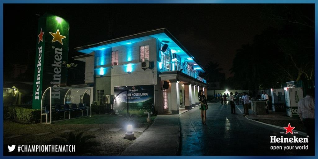 Heineken House Comes Alive As UCL Q/Finals Take Centre Stage