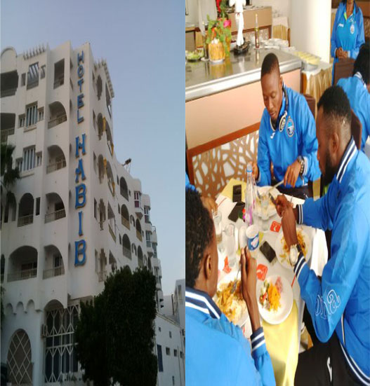 Enyimba Land In Monastir For Etoile Clash, Lodge At Hotel Habib